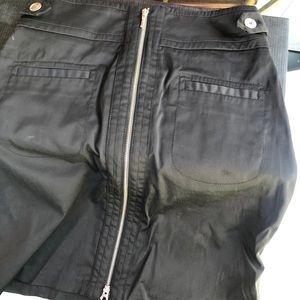Skirt black  zipper